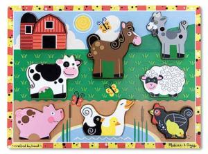 Farm Chunky Puzzle Melissa and Doug