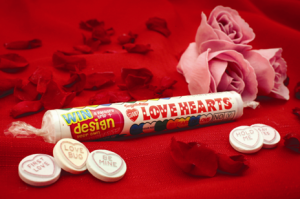 Love Heart promotional roll